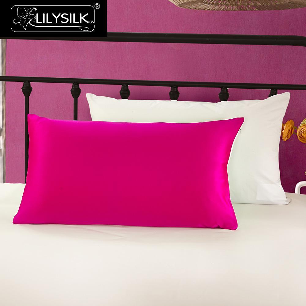 Aliexpress Com Buy Lilysilk Silk Pillowcase With Cotton