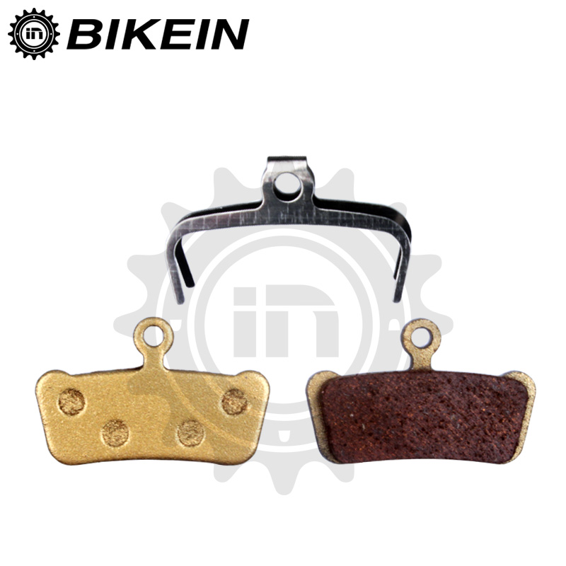 BIKEIN - 4 Pairs Bicycle Disc Brake Pads For SRAM Guide RSC/RS/R Avid XO E7 E9 Trail 4 Pistions MTB Bike Hydraulic Brake Shoes