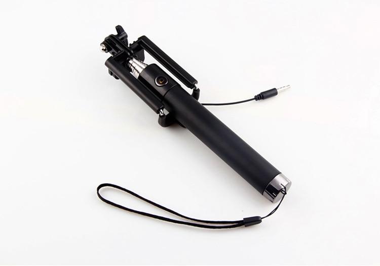 Wholesale100pcs/Lot Integrated Foldable Smart Self Timer Shutter Selfie Holder Pole Stick For Smart phone gepro multifunctional shutter self timer monopod black