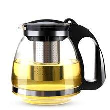 750/1500 мл ручной работы Чай горшок с фильтром термостойкие Стекло Чай горшок для заварки Нержавеющая сталь чайники оптом Чай кастрюли посуда для напитков