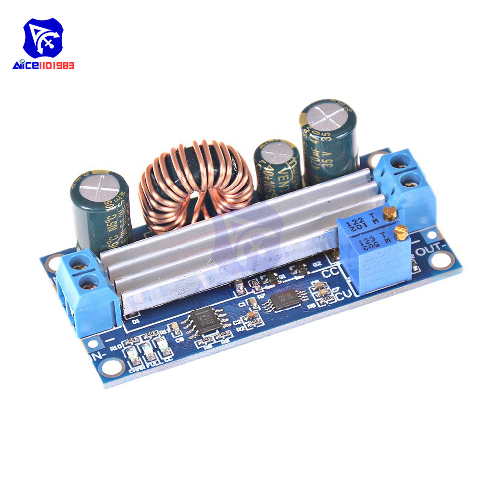 CC CV Adjustable 3A 35W DC 5 -30V To DC 0.5 -30V Step Up Down Buck Boost Converter Power Supply Module Voltage Regulator