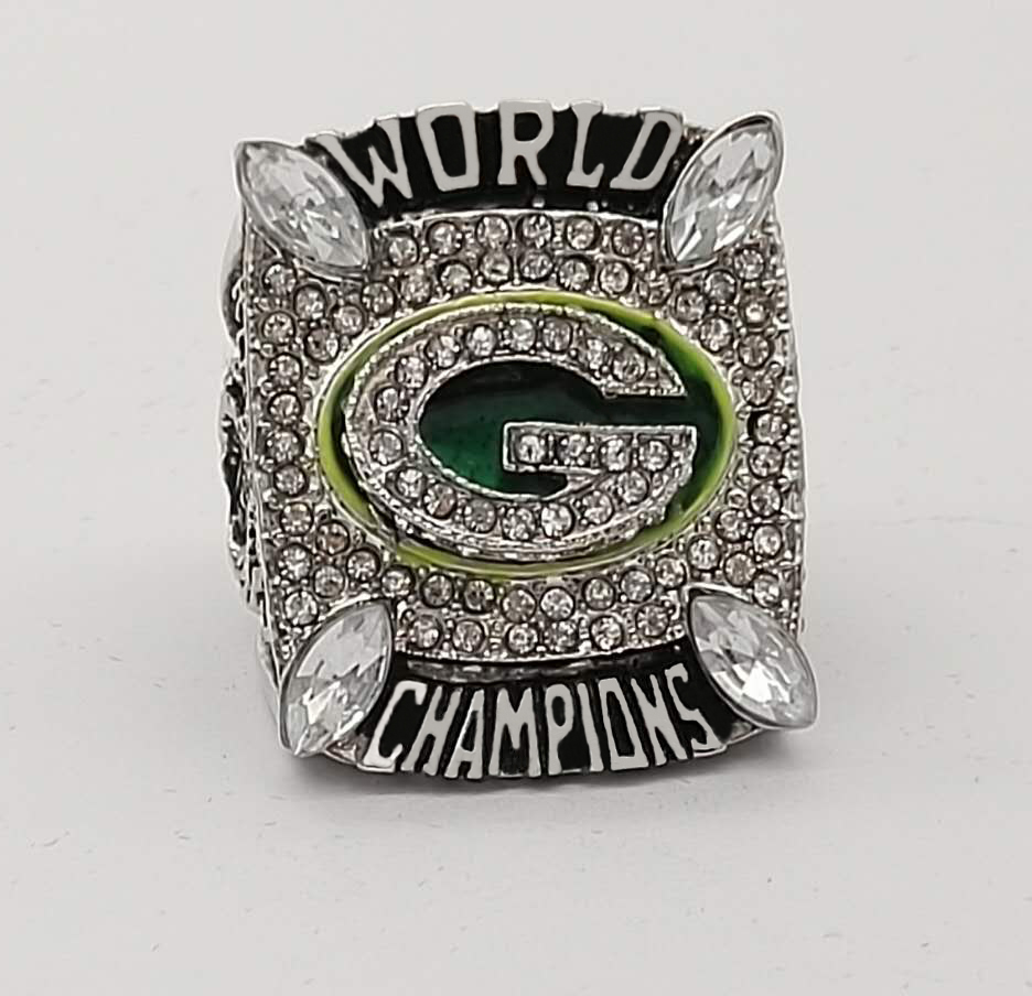 Prix pour Super Bowl 2010 Packers de Green Bay Personnalisé Sport Fans Championnat Du Monde Anneau