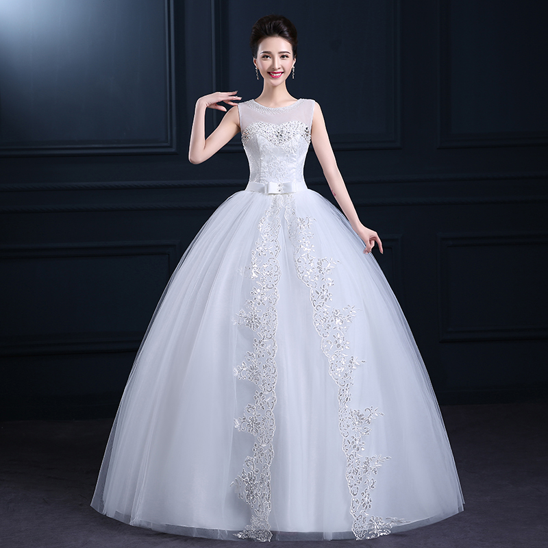 2015 Spring And Summer Wedding Dress Formal Dress Double