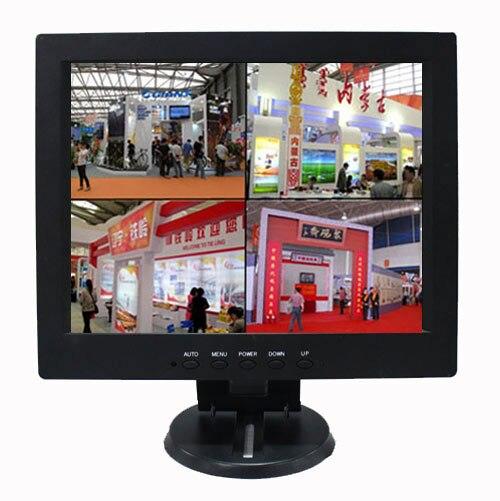 10.4 дюймов высокой четкости ЖК дисплей дисплей компьютера bnc1bnc4 четыре сегментации изображений может быть связано с четырьмя камерами