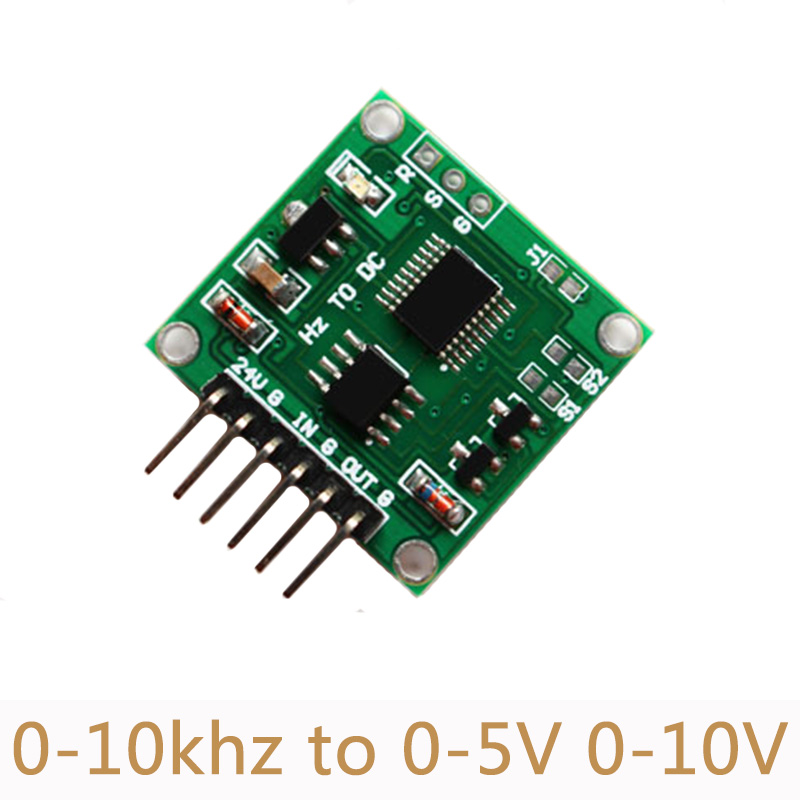 Frequency To Voltage Module Linear Transformation Transmitter 0-10Khz to 0-5V 0-10V Remote data acquisition SC05