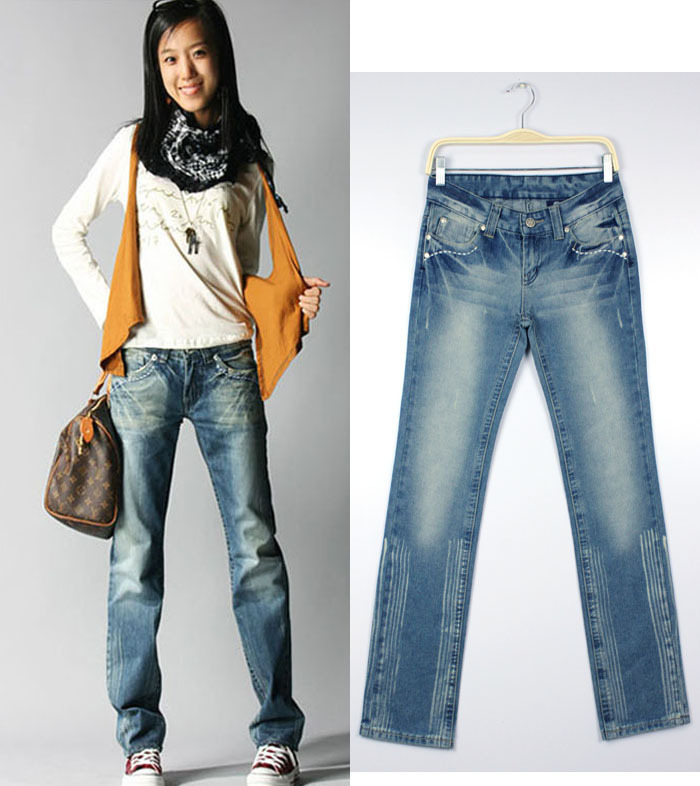 Popular Straight Cut Jeans-Buy Cheap Straight Cut Jeans lots from ...