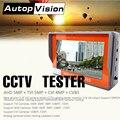 IV7W 4,3 дюймов четыре-в-одном 5MP CCTV камера тестер монитор AHD CVI TVI CVBS аналоговая камера s тестирование 1080P Аудио тестовой 12V1A выход