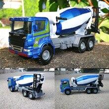 1: 60 масштаб цементный Бетономешалка игрушка сплав агитирующий грузовик Грузовики Модели Коллекция детские игрушки