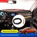 QCBXYYXH авто-Стайлинг резиновые анти-звуконепроницаемые не пропускающие шума пыленепроницаемые лобовое стекло приборной панели автомобиля у...