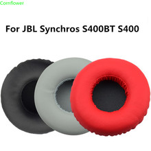 цена на Soft Foam Ear Pads Cushions for JBL Synchros S400BT S400 Headphones Earpad high quality