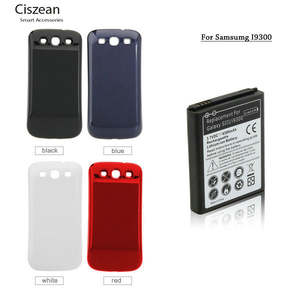 4300 mAh + Back Cover For Samsung Galaxy S3 III S 3 i9300 I9308 I9305 L710 i747 i535