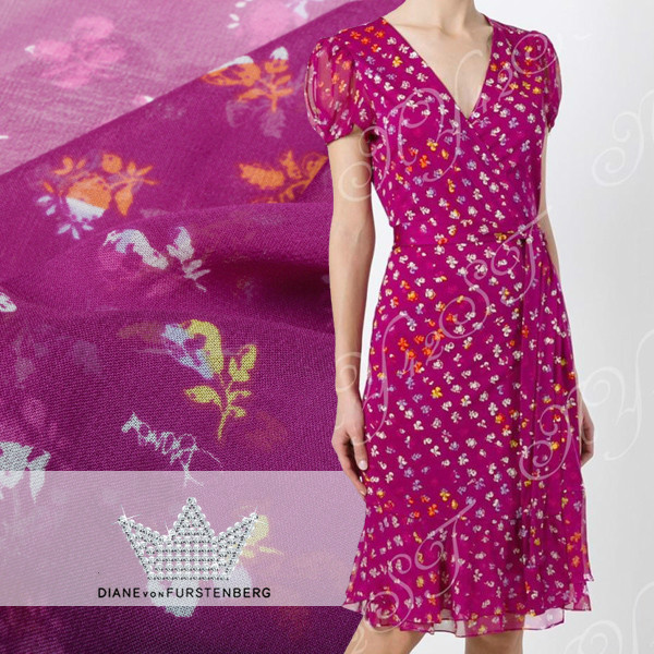 140 cm large 10mm soie georgette tissu couleur atmosphère élégante micro-transparent jupe vêtements cheongsam tissu