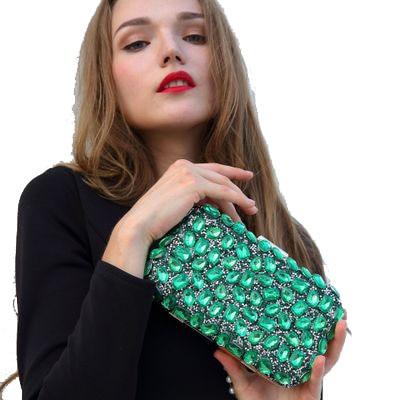 Diamant dames sac chaud forage sac de soirée sac de soirée dames embrayage sac à bandoulière diamant brillant boîte de nuit paquet