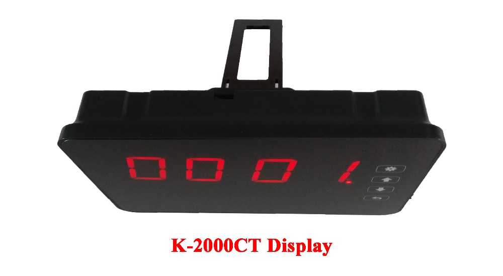 Waiter Calling Buzzer System Ycall Brand 433.92MHZ Full Equipment By CE Passed( 2 display+30 call button )