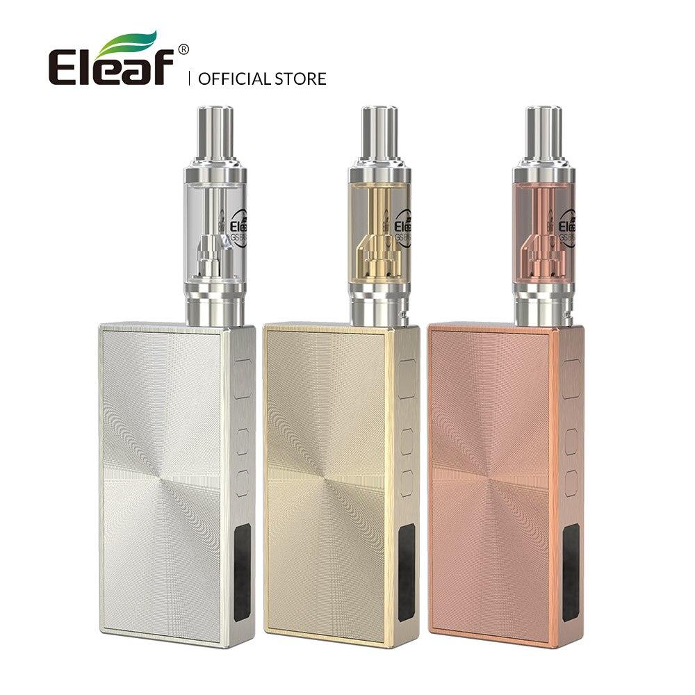 倉庫オリジナル Eleaf 基礎キットを内蔵した 1500 3000mah のバッテリーと 1.8 ミリリットル GS 基礎タンク GS 空気 0.75 /1.5ohm ヘッド  グループ上の 家電製品 からの 電子タバコキット の中 1