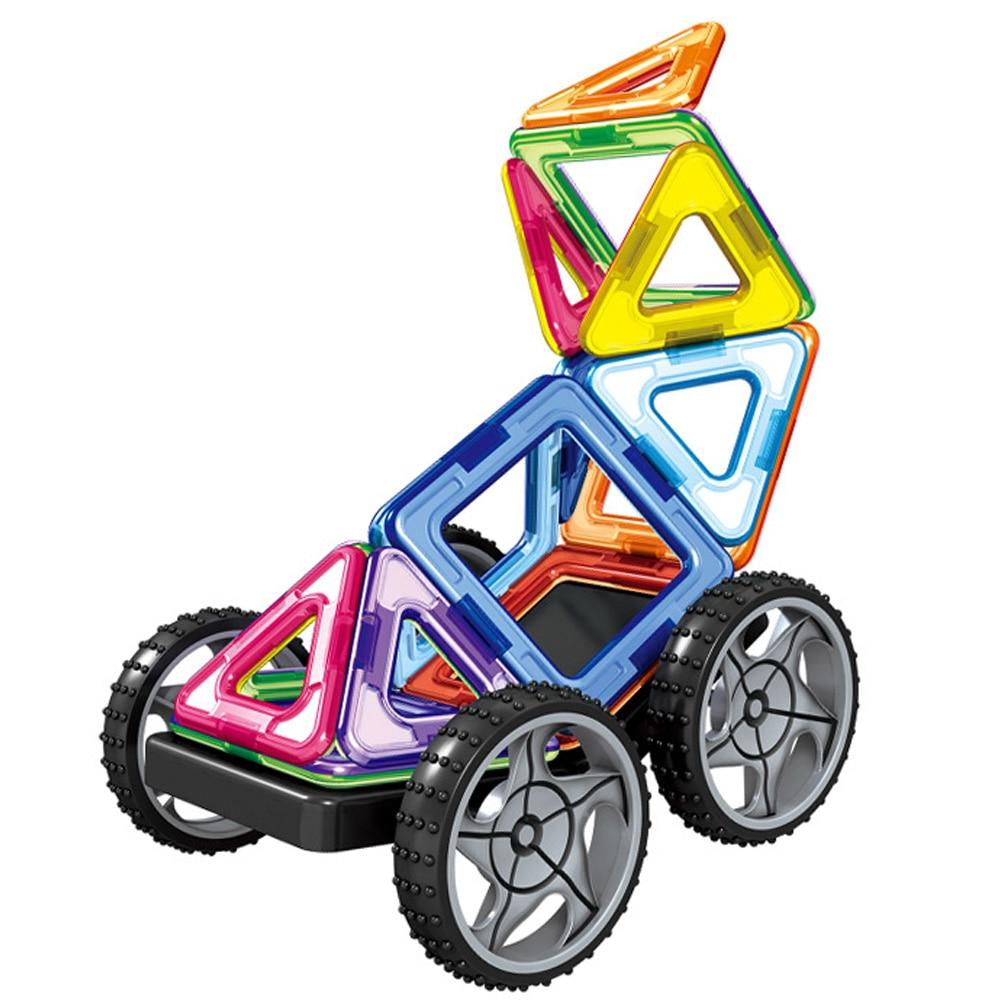 32 шт. большой размер магнитные блоки модель и строительство набор Магнитный конструктор Развивающие игрушки для детей подарок для детей