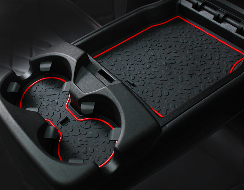 for JAGUAR ePACE Gate grooved pad Storage box cushion Cup Non-slip mat