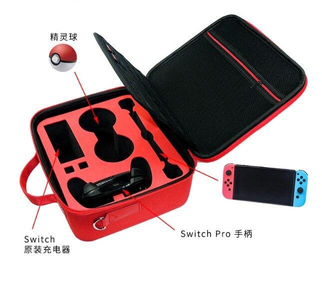 Mallette de rangement à balle rigide pour Nintendo Switch/accessoire