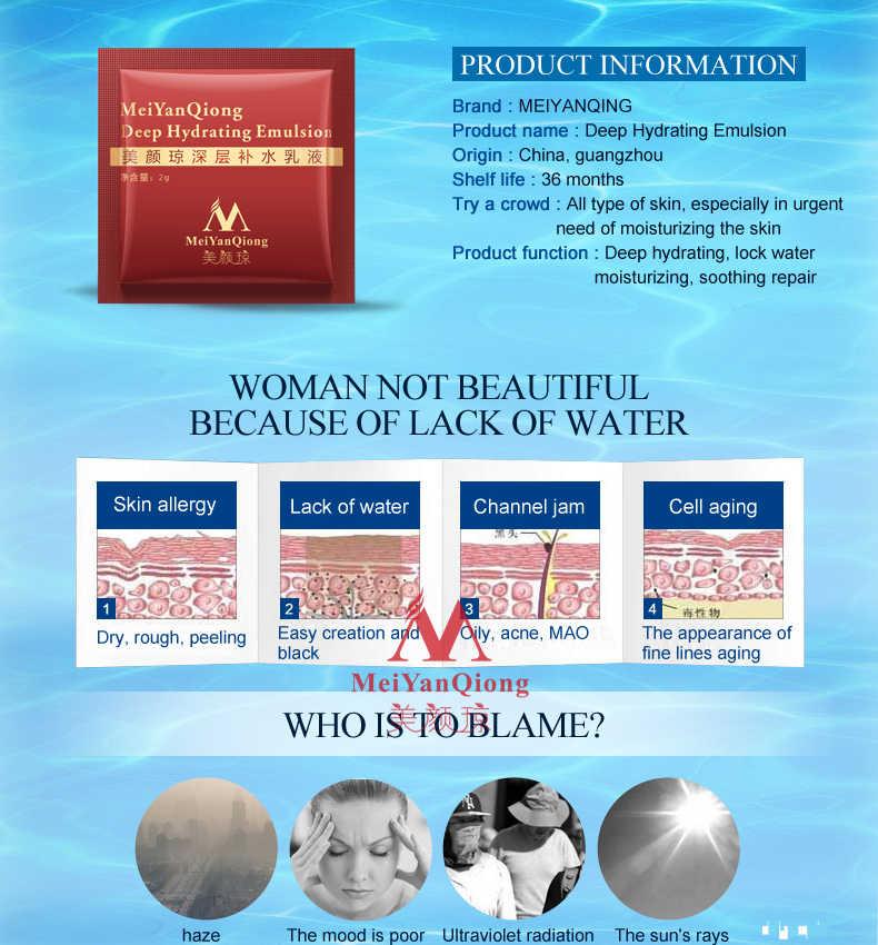 30-150pcs Profondo Emulsione Idratante Acido Ialuronico Idratante Viso Crema Per La Pelle Grassa Anti-lentiggine Crema
