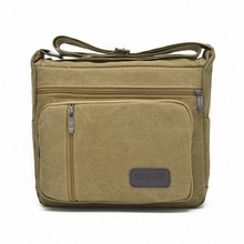 canvas bags 2016 men's travel bag canvas men messenger bag brand medium size men's bag luxary vintage style briefcase LI-1385