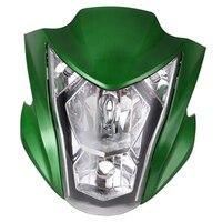Motorcycle LED Headlight Assembly for Kawasaki ER6N 2012 16 ABS Plastic Motorcycle Headlight Bulbs