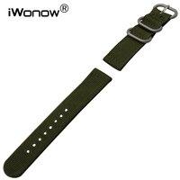 Véritable Nylon Bracelet pour Luminox Maurice Lacroix Hamilton Hommes Femmes Montre Bande Zulu Bracelet Poignet Bracelet 18mm 20mm 22mm 24mm