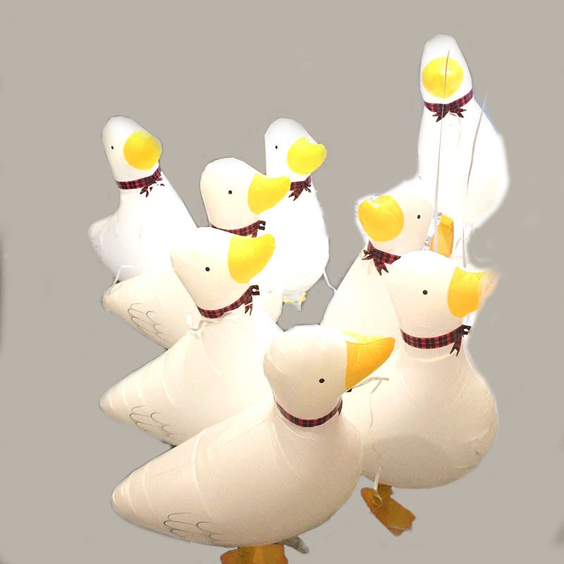 60*40CM Walking Pet Duck Balloon Balloon Animals Foil Ballons Party Supplies Kindergarten Birthday Party Decorations Kids/adult