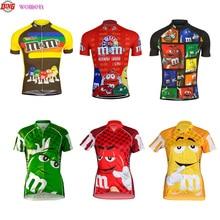 NEW phụ nữ đi xe đạp jersey Top mặc áo Ngắn đỏ vàng xanh đi xe đạp quần áo Đội Ropa ciclismo MTB quần áo cổ điển