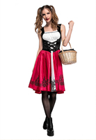 Halloween Costumes Women Sexy Cosplay Little Red Riding Hood Fantasy Game Uniforms Fancy Dress Outfit Costume
