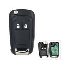 2 Buttons 434MHz With ID46 Chip Car Remote Control Key Fob for Chevrolet Aveo Cruze Orlando HU100 Blade