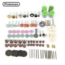 Jeu daccessoires pour Mini perceuse électrique de 161 pièces, outils abrasifs, outil rotatif Dremel pour le polissage de meulage