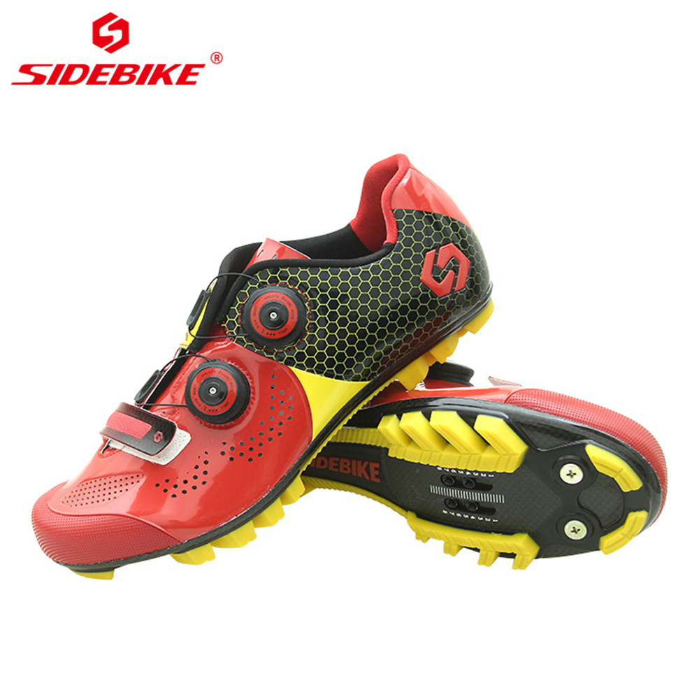 Sidebike Cycling Shoes Road MTB Men Carbon Mountain Bicycle Bike Shoes Zapatos Bicicleta Sneakers 자전거 신발 Breathable Breathable in Cycling Shoes from Sports Entertainment
