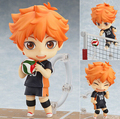 Haikyuu Action Figure 461# Hinata Syouyou Nendoroid 10CMM Haikyuu Nendoroid Hinata Syouyou Model Toy Doll Volleyball Figures