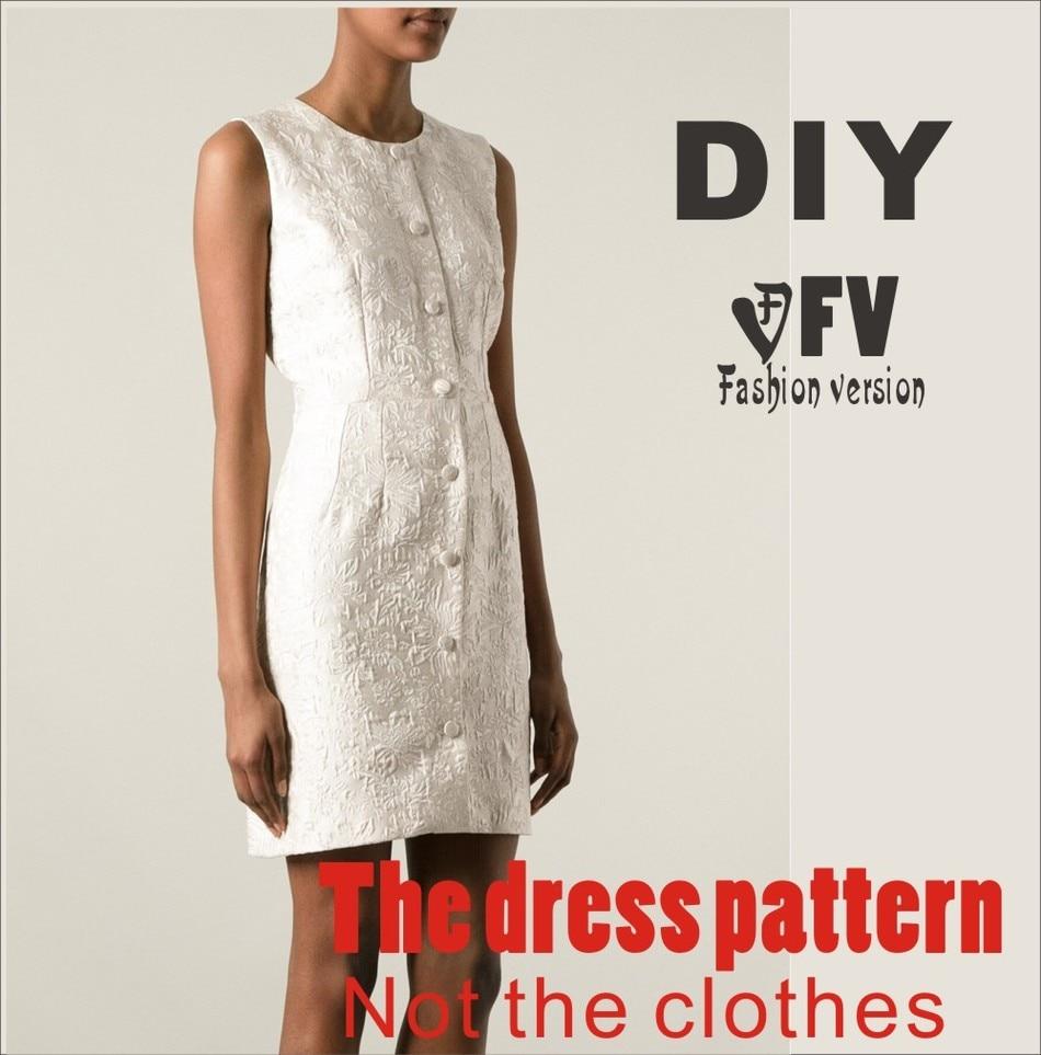 60db8817edd70 Vêtements BRICOLAGE La robe Robes Couture Motif dessin découpe des Femmes  de Robe Couture Modèle BLQ-67