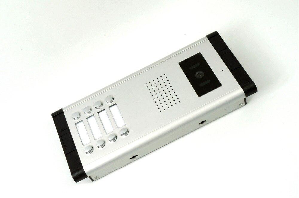Yobangsecurity Видеодомофоны Мониторы 10-дюймовый видео Дверные звонки Камера Системы домофон доступа Системы для 8 единиц квартиры