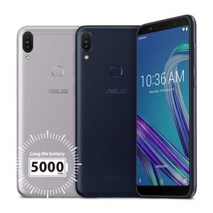 Image 3 - Global Versie Asus Zenfone Max Pro (M1)ZB602KL 4Gb 64Gb 6 Inch 4G Lte Smart Ontgrendeld Mobiele Telefoon Gezicht Id 5000Mah Android8.1