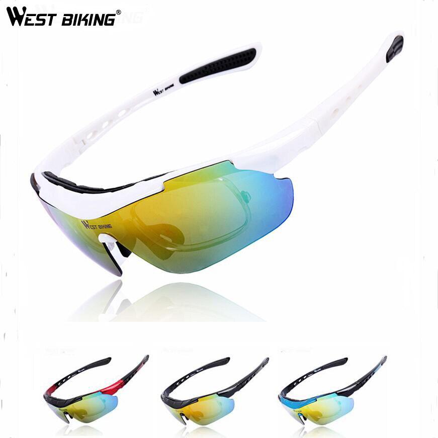 Prix pour OUEST VÉLO Cyclisme Lunettes UV Protection lunettes de Soleil Coloré Miroir Objectif Sports de Plein Air Lunettes de Vélo Lunettes de Soleil