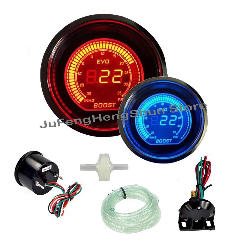 Temperature gauge (turbo models)