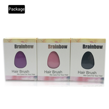 Brainbow 1pc Egg Design Magic Hair Brush Plastic Tangle Detangling Comb Head Scalp Massage Comb Salon Shower Hair Styling Tools