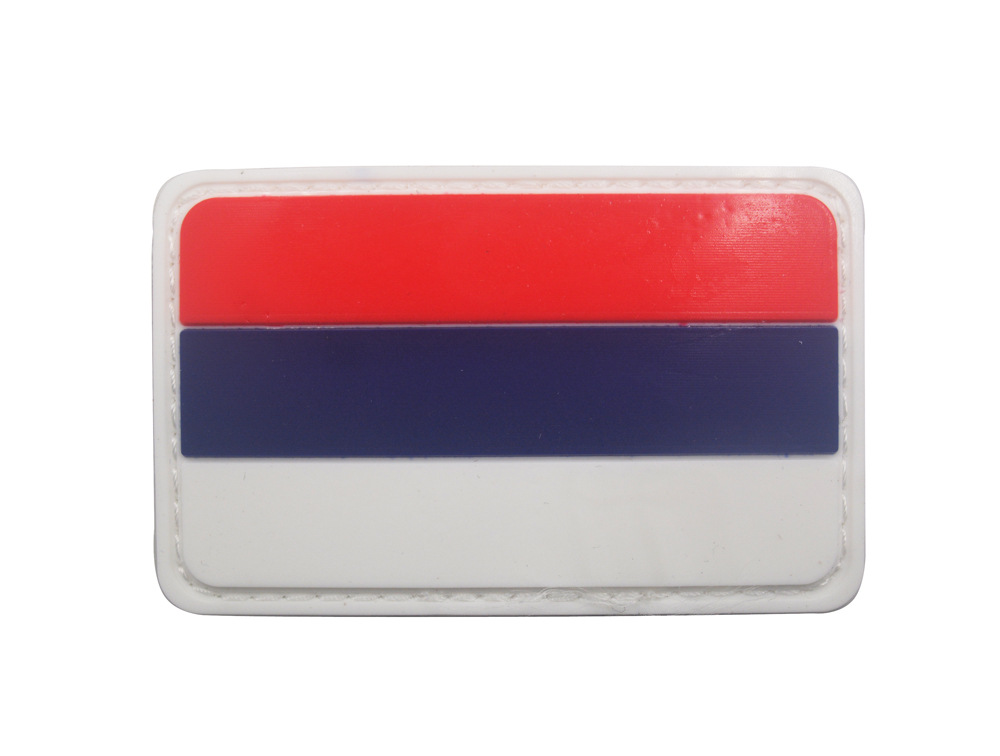 Russia Flag Embroidery and PVC the Tactical Military Patches Badges for Clothes Clothing in Patches from Home Garden