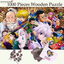 MOMEMO HUNTERxHUNTER Puzzle 1000 Pieces Wooden Puzzle Toys for Adults Jigsaw Puzzles 1000 Pieces Puzzle Games Childen Toys Gift momemo one piece 1000 pieces jigsaw puzzles straw hat pirate group of people puzzle for adults wooden puzzle games child puzzle