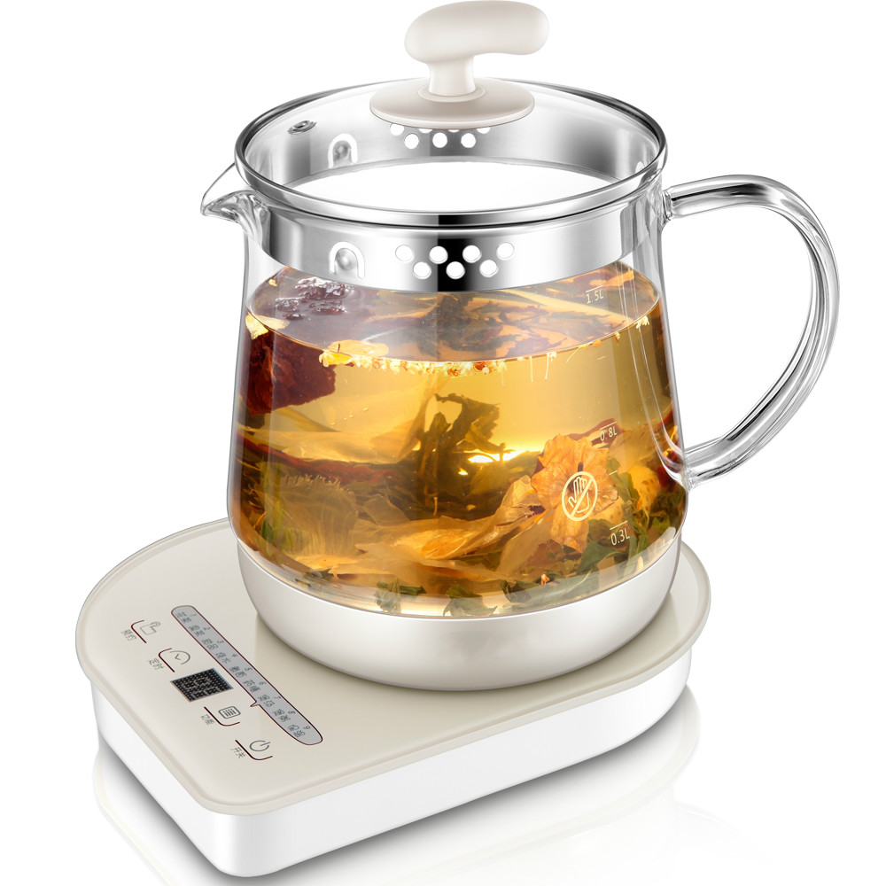 цена Full automatic multi-purpose glass electric kettle Tisanes pot Cooking pots Overheat Protection