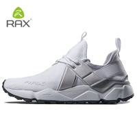 Men Anti Skidding Breathable Round Toe Running Shoes Outdoor Lightweight Mesh Athletic Walking Jogging Sports Footwear AA12356