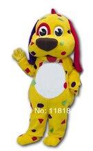 MASCOT Yellow Dog Puppy mascot costume custom fancy costume anime cosplay kits mascotte fancy dress carnival costume