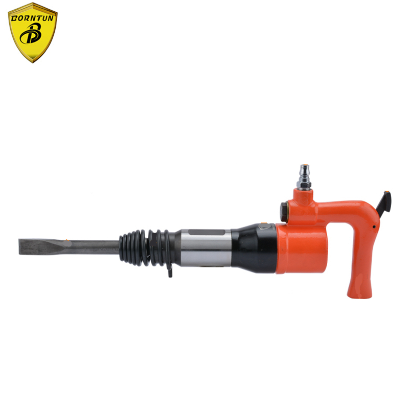 Borntun Pneumatic Air Shovel Gun Air Rust Remover Chisel Pickax Pickaxe Remove Metal Rust Burrs Welds Paint Scrap Removing Tools