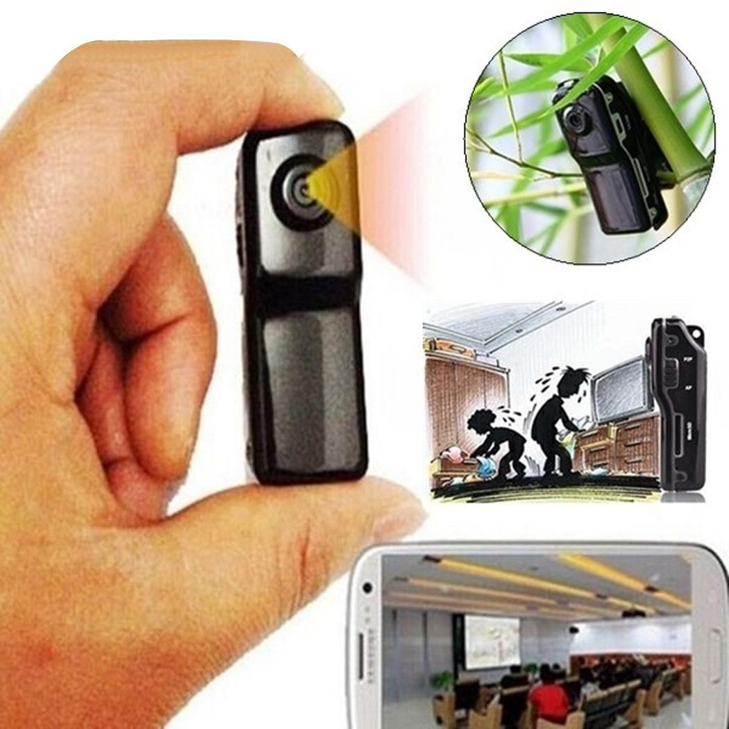 HD MD80 Digital Mini Camera Outdoor Sports Thumb Recorder Support TF Card  Recording Camcorder Mini DV DVR Video Recorder(China)