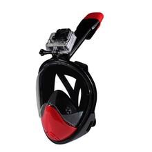 Bajo el agua Fácil Respiración Anti-vaho Máscaras de Buceo de Alta Calidad Ligero Completo de 180 grados de visión Amplio de Buceo Máscara de Buceo nadar