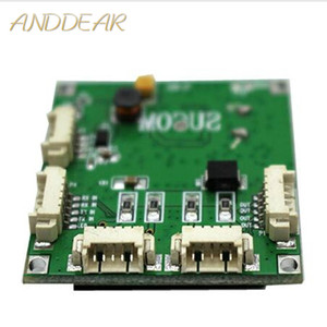 Image 1 - Mini PBCswitch modul PBC OEM modul mini größe 4 Ports Netzwerk Schalter Pcb Board mini ethernet schalter modul 10/ 100 Mbps OEM/ODM