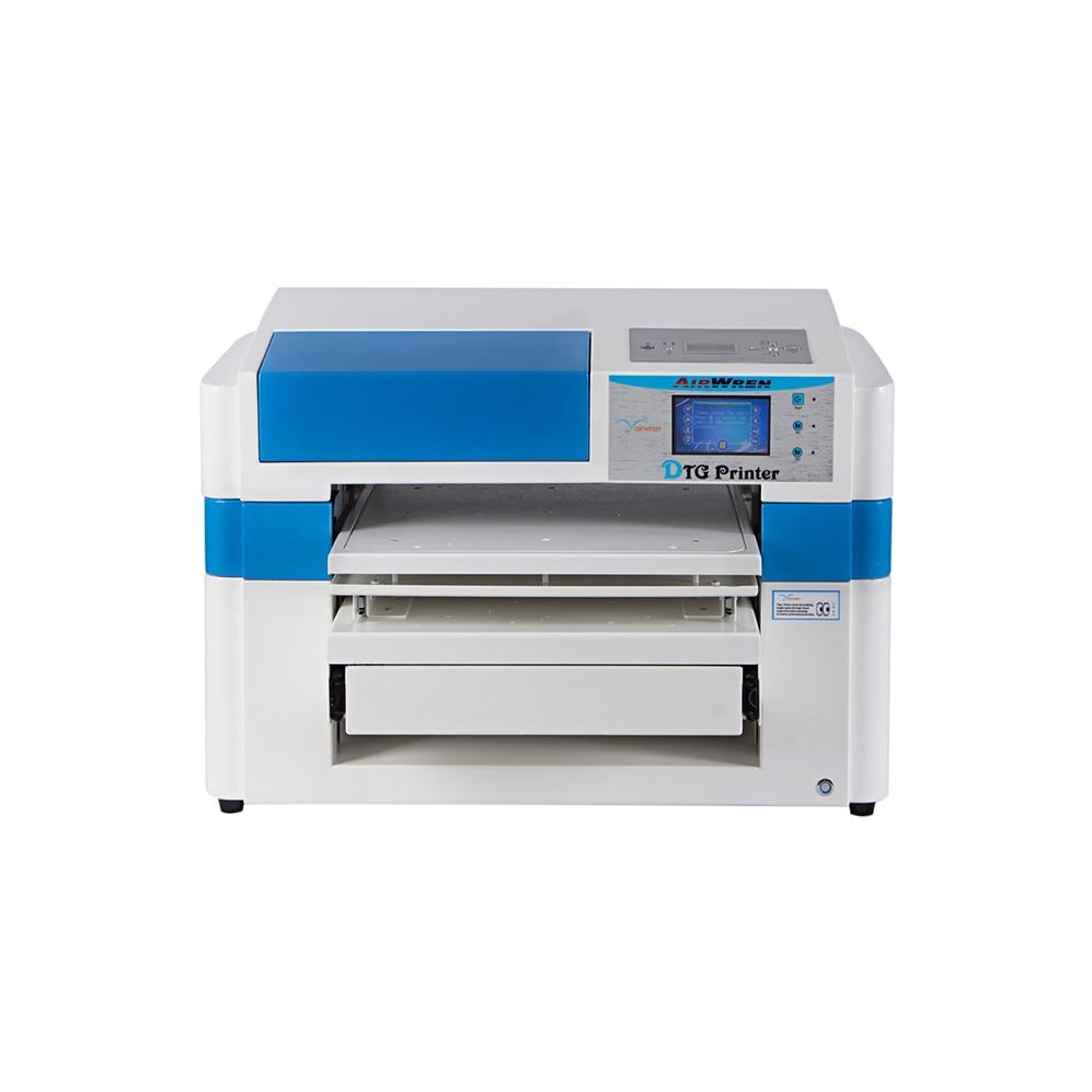 High Performance A2 Size Dgt Digital Dtg Garment T-shirt Printer