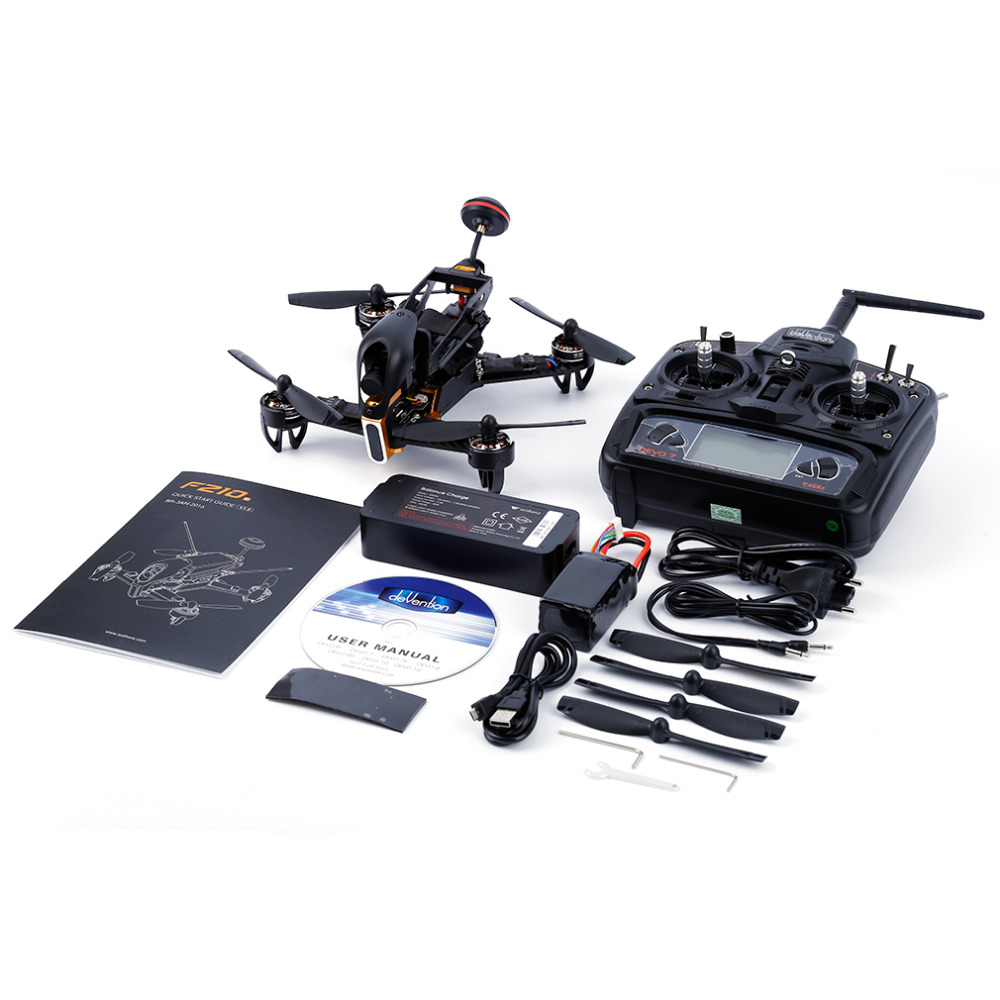 2017 New Brand and Hight Quality Black 1pcs 2.4Ghz Night Vision HD 700TVL Camera RC Drone for Walkera F210